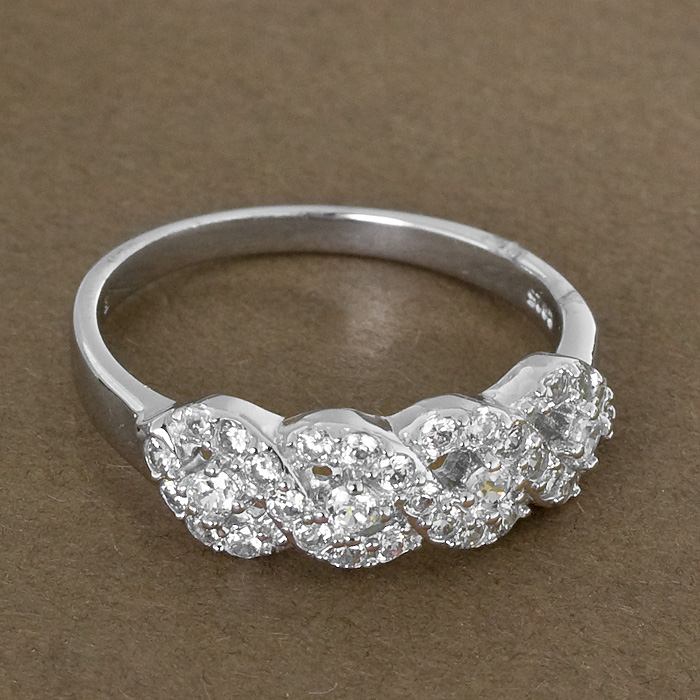 Srebrny pierścionek - P 0006