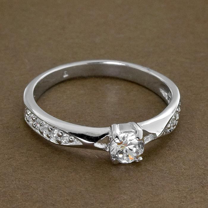 Srebrny pierścionek - P 0007