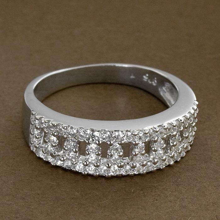 Srebrny pierścionek - P 0011