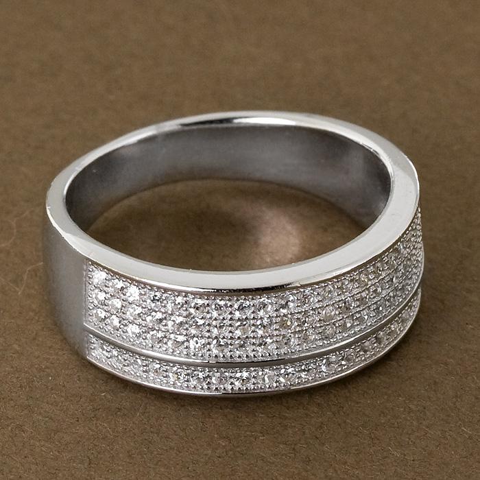 Srebrny pierścionek - P 0016