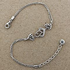 Srebrna bransoletka - 13682-13682: zdjęcie 2