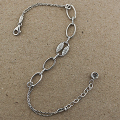 Srebrna bransoletka - 13689 13689
