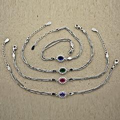 Srebrna bransoletka - 13765-13765: zdjęcie 4
