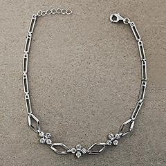 Srebrna bransoletka - 13885 13885