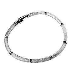 Srebrna bransoletka - 14298 14298