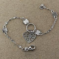 Srebrna bransoletka - 14305-14305: zdjęcie 1