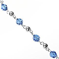 Srebrna bransoletka - 14380 14380