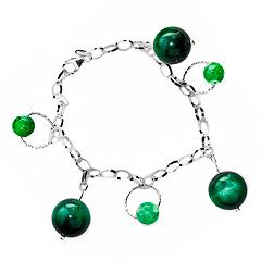 Srebrna bransoletka - 14931 14931
