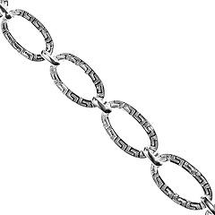 Srebrna bransoletka - 7558