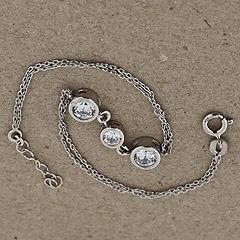 Srebrna bransoletka - 13052-13052: zdjęcie 2