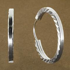 Srebrne kolczyki - 11075 11075