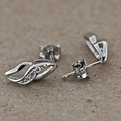 Srebrne kolczyki - 12609-12609: zdjęcie 3