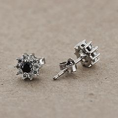 Srebrne kolczyki - 12620-12620: zdjęcie 8