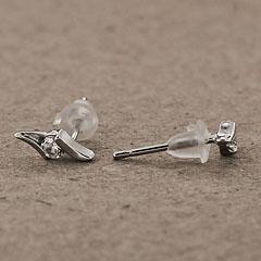 Srebrne kolczyki - 12930-12930: zdjęcie 1