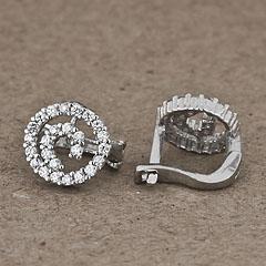 Srebrne kolczyki - 12940-12940: zdjęcie 2