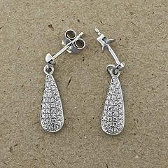 Srebrne kolczyki - 13700-13700: zdjęcie 1