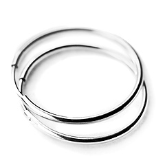 Srebrne kolczyki - 14510-14510: zdjęcie 1