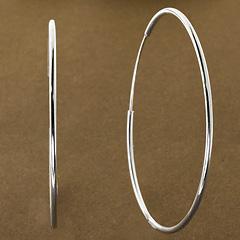 Srebrne kolczyki - 15441