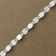 Srebrny łańcuszek - 10078-10078: zdjęcie 2
