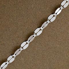 Srebrny łańcuszek - 10081 10081