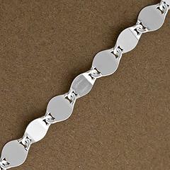 Srebrny łańcuszek - 10082-10082: zdjęcie 1