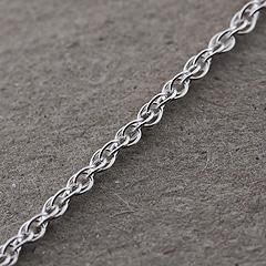 Srebrny łańcuszek - 10295 10295
