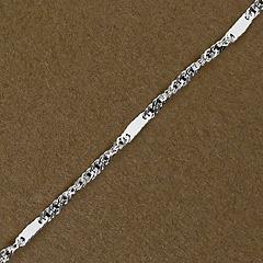 Srebrny łańcuszek - 11628-11628: zdjęcie 3