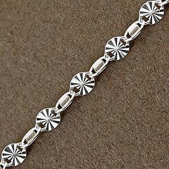 Srebrny łańcuszek - 11637-11637: zdjęcie 8