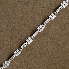 Srebrny łańcuszek - 11638-11638: zdjęcie 6