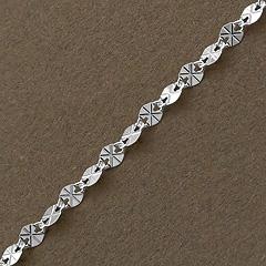 Srebrny łańcuszek - 11645-11645: zdjęcie 5