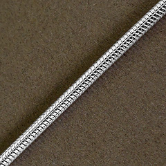 Srebrny łańcuszek - 11650-11650: zdjęcie 2