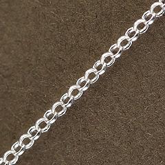 Srebrny łańcuszek - 12284 12284