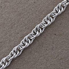 Srebrny łańcuszek - 13231 13231