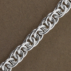 Srebrny łańcuszek - 13232 13232