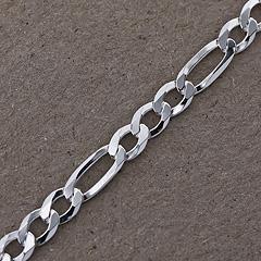 Srebrny łańcuszek - 13236-13236: zdjęcie 3