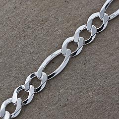 Srebrny łańcuszek - 13247-13247: zdjęcie 4