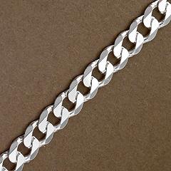 Srebrny łańcuszek - 13251-13251: zdjęcie 2