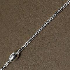 Srebrny łańcuszek - 13254-13254: zdjęcie 1