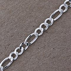 Srebrny łańcuszek - 13298-13298: zdjęcie 4