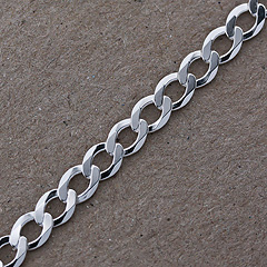 Srebrny łańcuszek - 13299 13299