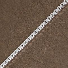 Srebrny łańcuszek - 13302-13302: zdjęcie 9