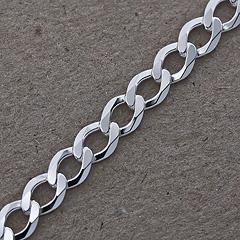 Srebrny łańcuszek - 13306-13306: zdjęcie 7