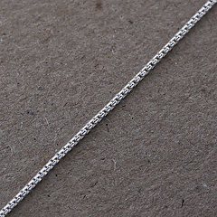 Srebrny łańcuszek - 13308-13308: zdjęcie 8