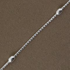 Srebrny łańcuszek - 13309-13309: zdjęcie 5
