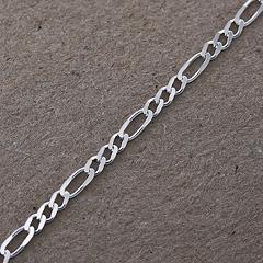 Srebrny łańcuszek - 13321 13321