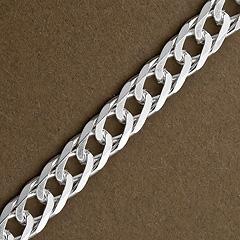 Srebrny łańcuszek - 13324-13324: zdjęcie 3