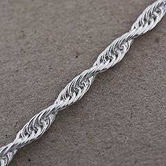 Srebrny łańcuszek - 13373 13373
