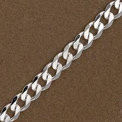 Srebrny łańcuszek - 13397-13397: zdjęcie 4