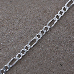 Srebrny łańcuszek - 13416-13416: zdjęcie 4