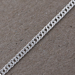 Srebrny łańcuszek - 13427 13427